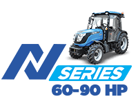 Solis - N Series 60-90 HP Tractors - Buy Narrow Tractor