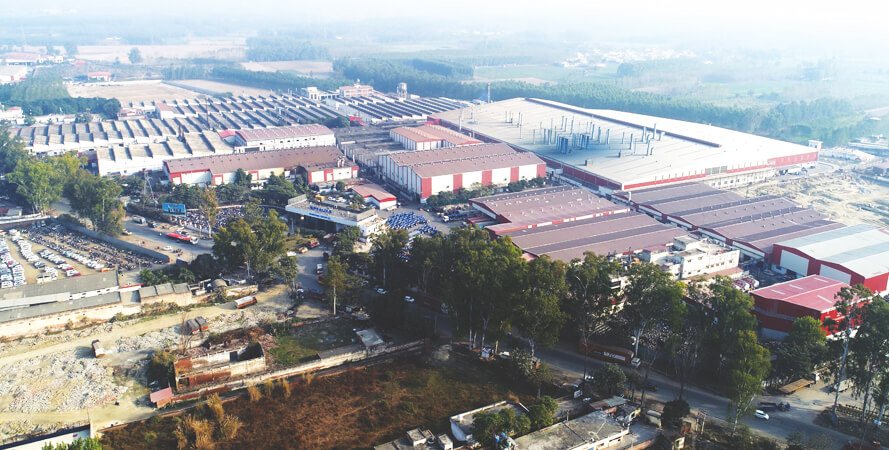 World's largest integrated tractor manufacturing plant