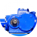 heavy duty gearbox compatible with higher hp tractors up to 90hp
