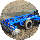 Three beam heavy structure frame. helps to penetrate in soil easily
