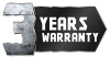 3 Years Warranty stamp tinf