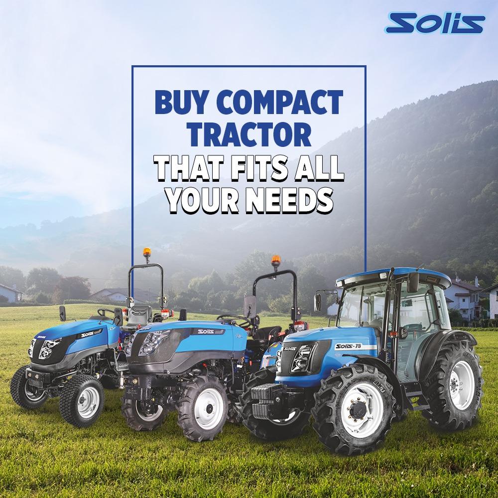 Buy Compact Tractors
