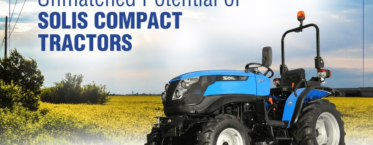 Solis compact tractors