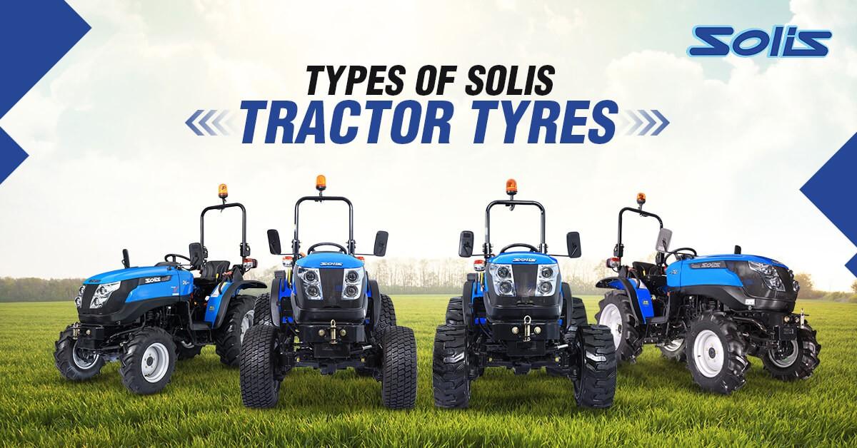 Solis Tractor Tyres