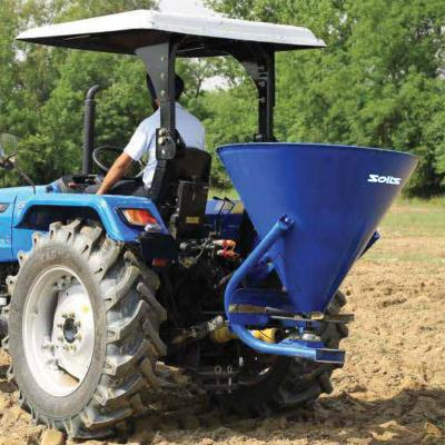 Working Of Fertiliser Spreader