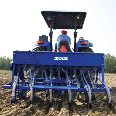 Working Of Seed Drill Fertiliser